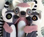 speel-speel (meerkat, lemur) / crochet surricate