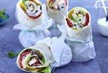 Sandwiches & Wraps / Rezepte & Ideen für leckere Sandwiches & Wraps