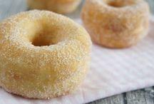 Donuts, Doughnuts & Berliner / Rezepte & Ideen für leckere Donuts, Doughnuts, Berliner & Krapfen
