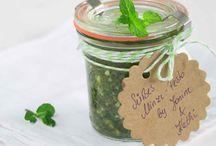 Süße Saucen & Dips / Rezepte & Ideen für süße Saucen, Dips & Pesto