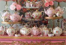 Tea and Roses Tea Party / Tea,roses, and lace....perfect / by Veronica Smith