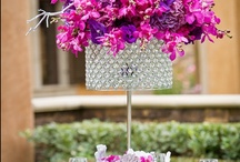 Glamour -N- Luxury Wedding Centerpieces  / I love over the top wedding! / by Magalie Leger