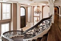 • interiors // staircase + mezzanine