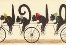 Les chats vus par les artistes / by Allée de Giverny
