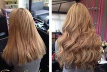 Transformations with Great Lengths / Great Lengths hair extensions before and after transformations!