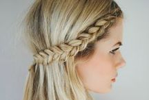 Plaits and Braids / Plait and braid hair style inspiration