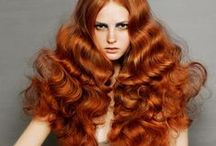 Red / Auburn / Red, auburn and ginger hair inspiration / by Great Lengths UK & Ireland