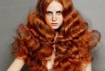 Red / Auburn / Red, auburn and ginger hair inspiration