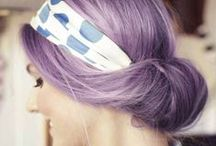 Fashion Colours / Fashion colour hair inspiration - blue, green, purple, pink, red, orange, the list is endless!
