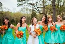 SтуℓєHєrPrєтту | Wedding / Wedding styles that are trending!   Check out my personal favorite wedding theme we chose 'Teal/Aqua. Grey and with a hint of orange' the perfect pick for a summer wedding!  / by Style Her Pretty ♡
