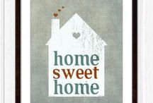 ♡ Home Sweet Home ♡ / by Meidari Nawawi