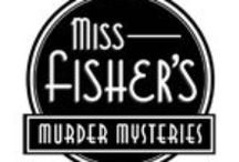 Miss Fisher's Murder Mysteries / Follow the Honorable Phryne (fry-nee) Fisher through the back alleys, shady markets, and jazz clubs of late 1920s Melbourne. A glamorous lady detective in a mostly male world, she goes about her work with a pearl-handled pistol and dagger-sharp wit, leaving a trail of male admirers in her wake. Essie Davis (Girl with a Pearl Earring) stars in the stylish series based on the best-selling novels by Australian writer Kerry Greenwood.