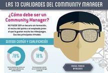 #CommunityManager / Infografías sobre Community Manager
