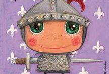 chevaliers et princesses