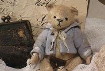 ours en peluche / douceur et nostalgie!