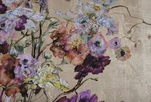 Claire Basler (1960-) / Born in Vincenne, France and studied at the École des Beaux Arts. It was at the Louvre, though, where she found her inspiration, spending hours around the masterpieces of the museum's collection, becoming especially enamoured with the work of 18th Century French artists such as Watteau, which remain a point of reference for her own work. She currently resides in a 13th Century castle in Central France where she also works.