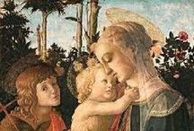 Botticelli, Sandro (mid-1440s-1510) / He was an Italian painter of the early Renaissance-era. As a boy, he apprenticed as a Goldsmith and then with master painter Filippo Lippi. By his forties, Botticelli was himself a master and contributed to the decoration the Sistine Chapel. His best known work is The Birth of Venus.