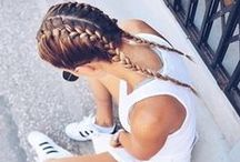 Workout Hairstyles / Our favourite ways to tame tresses during a workout.
