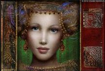 """Csaba Markus / He is a Hungarian born American artist, painter, sculptor and Publisher. As an artist, he primarly Works in the field of printmaking, with a particular focu8s on etching and serigraphy. His work also includes oil painting, drawing, glass art, photography and sculpture. Markus's painting titled """"Pure Love"""" has been selected as one of the World's 10 most sensual paintings by Toronto Sun newspaper."""