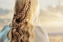 Game of Thrones Hairspiration / Hair inspiration from your favourite Game of Thrones characters