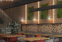 Misbaşak Restoran Fırın / Çukurambar / Turquoise İç mimarlık
