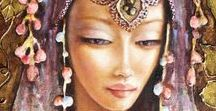 Dobriela Koeva / Bulgarian artist in oil painting, etching, stained glass, art jewelry and other.