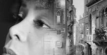Antonio Mora / Spanish artist who has been developing an extensive collection of portraits in which dream worlds are superimposed with reality. Having mastered the technique of digital collage using various tools, Antonio's creative process results in unified textures and the merging of two photographs. His inspiration derives from the portraits themselves. He dives into the imagination to bring to life an image that speaks of a deeper world, and the moment between sleep and consciousness.
