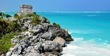 Mexico Travel Inspiration / Discover amazing pristine beaches and a fascinating history through Mexico with Veloso Tours