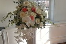 Wedding Ceremony Florals / Wedding ceremony decor we've created at St. Augustine & Jacksonville, FL venues.