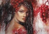 Alexandrina Karadjova - Acrista / Contemporary Bulgarian artist, she is bnest known for her exquisite and magic feminine paintings, done in soft pastel revealing her poetic vision of the world. She impresses the admirers with her tenderness and color that she also expresses with two other artistic materials - oil and aceylic.