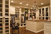 Dressing room of my dreams / Dressing rooms, walk-in closets, vanities, makeup and jewelry organization