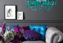 Dreamy home decor ideas / Furniture, colors, interior design