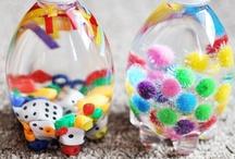 Kids craft: plastic bottles