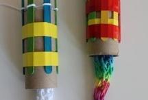 Kids craft: wool