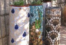 Recycled Gardening Containers