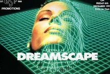 Rave Flyers / Late 80's / Early 90's Rave Flyers - AKA retro web banner ads