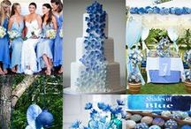 Blue Colour Themes.. / For all things blue and wedding related..