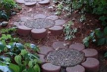 STONEWORK:stepping stones and paths
