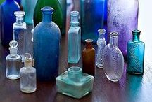 APOTHECARY / Vintage perfume bottles and equipment