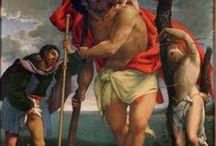 St. Christopher - in art