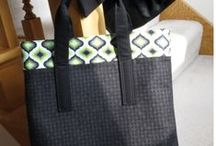 21 Totes Project / I'm featuring 21 Totes on the  Around the Bobbin blog in 2015
