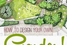 Backyard Tranquil Garden / Ideas for the backyard tranquil area