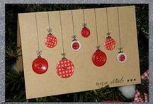CARTES NOEL / DIY cartes Noël et Voeux