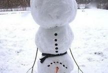 Snowman / Winter, Christmas