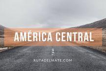 Guía America Central   Ruta del Mate / Tableros de viaje por los países de América Central: Costa Rica, Honduras, Panamá...