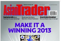 Asian Trader Covers / Asian Trader, established in 1985, is one of the premier magazines in its category. It covers the entire community of retailers, convenience stores, grocers, newsagents and off-licences.