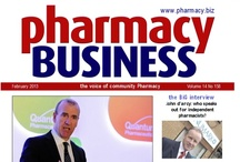 Pharmacy Business Covers / Pharmacy Business is a monthly magazine for independent and community pharmacists. It is now in its tenth successful year of publishing. Covering all major aspects of the pharmacy industry with news, analysis and expert commentary, the magazine also offers a range of business, legal and financial features which provide valuable advice for the small business owner.