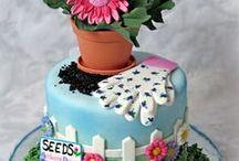 garden cakes / by Beckey Douglas