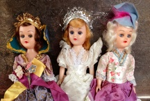 vintage dolls  / by Beckey Douglas