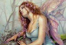 Fae Folk / Faeries, Mermaids, Mythology and other fantasy figures / by Jade Heffner